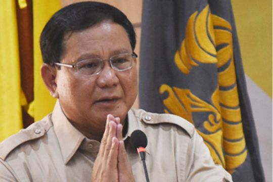 "Gerindra akan usung Prabowo jadi capres bukan ""king maker"""