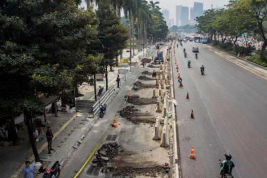 Sejumlah ruas jalan Ibukota lancar jelang pergantian tahun