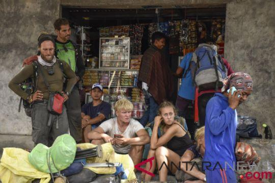 500 pendaki masih terjebak di Gunung Rinjani