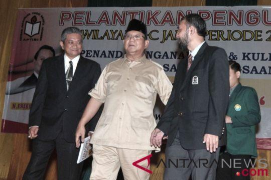 Kuliah umum Prabowo