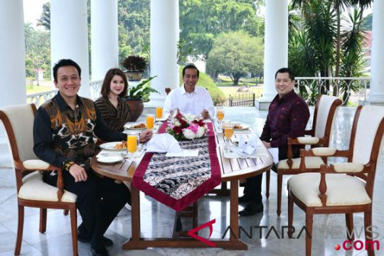 Presiden makan siang bersama Ketum Parpol