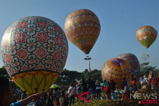 Festival balon udara Wonosobo