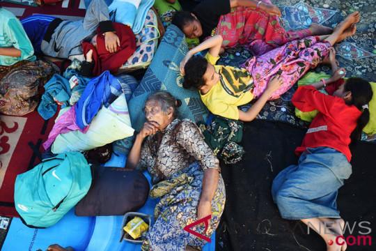 Polres Lombok Barat siapkan tenda pengungsi