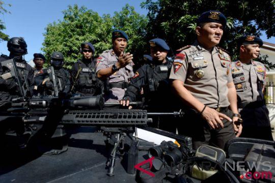 Polda Riau kirim 100 Brimob ke Palembang