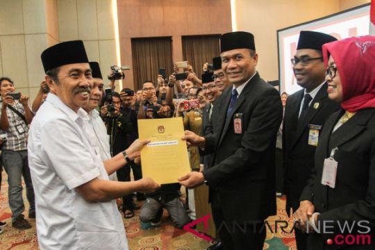 Pasangan Gubernur Riau terpilih