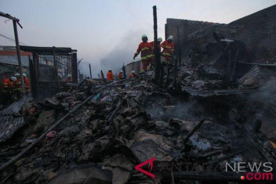 Kebakaran meningkat di Surabaya
