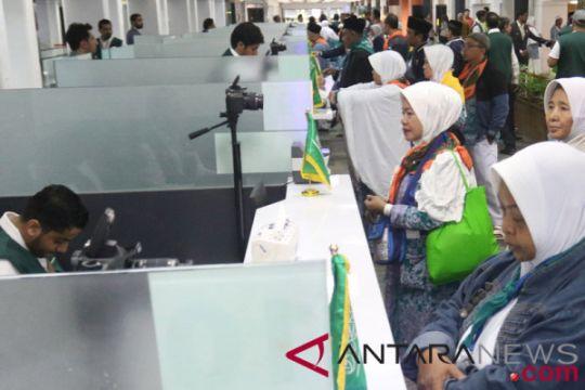 Hingga hari kedua, Embarkasi Jakarta telah berangkatkan 1.552 calon haji