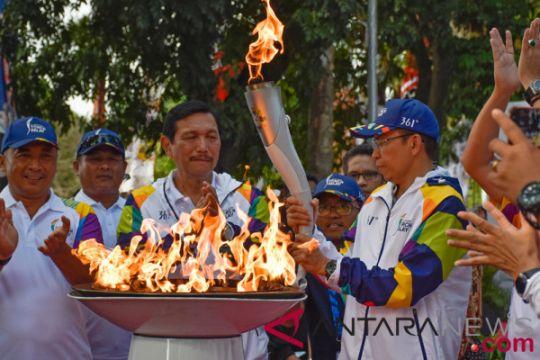 Gubernur NTB terima obor Asian Games