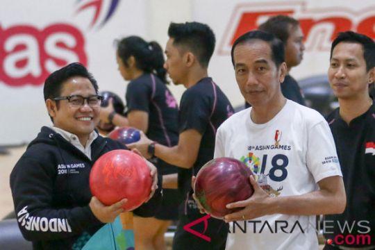 Cak Imin termasuk pilihan cawapres kata Jokowi