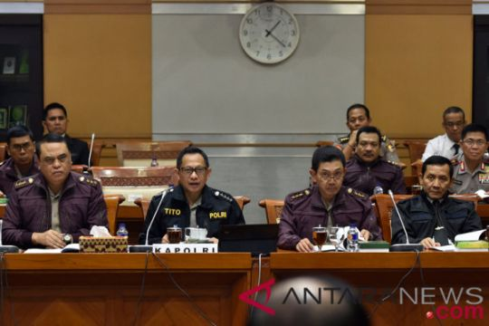 Kapolri usulkan UU Perlindungan Penegak Hukum