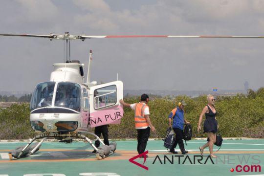 Penumpang Helikopter Meningkat