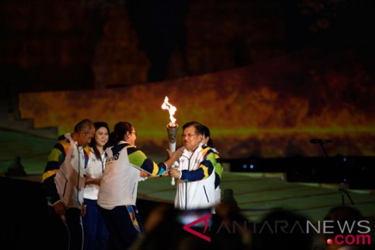 Torch Relay Asian Games 2018