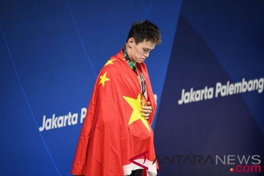 Sun Yang beri keterangan di Pengadilan Arbitrasi pada November