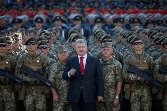 Pemimpin Ukraina tuduh Putin incar seluruh negaranya