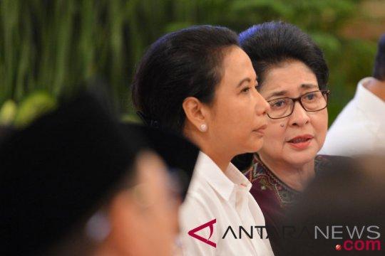 Menteri Rini hadiri Sidang Tahunan MPR 2018