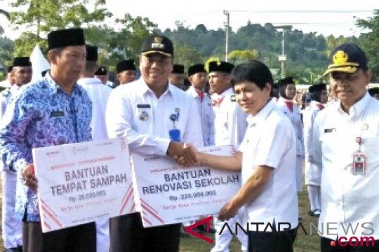 Pupuk Indonesia serahkan bantuan ke Sebatik