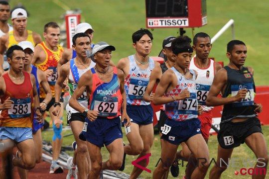 Hari pertama atletik perebutkan empat emas