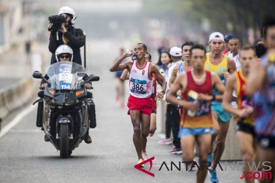 Maraton buka perburuan medali atletik