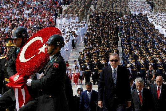 Turki kutuk penghentian bantuan AS buat UNRWA