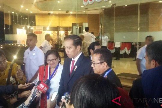 Presiden temui pengurus PGI
