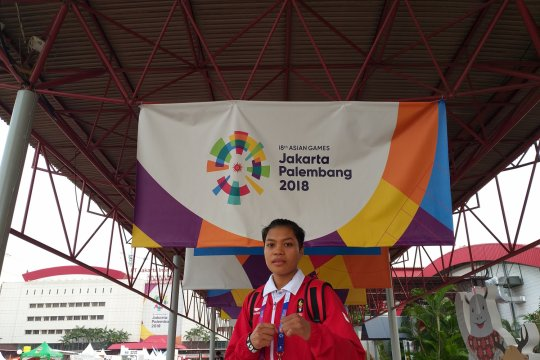 Huswatun torehkan sejarah baru di cabang tinju Asian Games