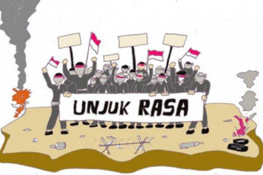Polres Jakpus rencanakan aksi banjir Jakarta berorasi di Patung Kuda