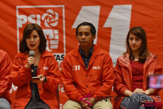 Caleg PSI kampanyekan partai dan Jokowi-Ma'ruf secara simultan