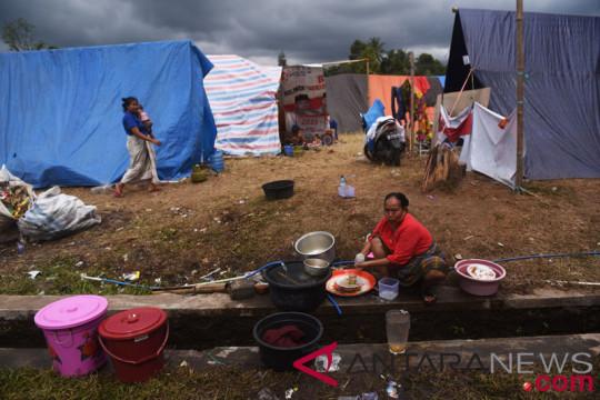 Pengungsi Lombok Utara kesulitan fasilitas MCK