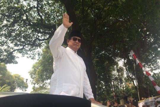 Prabowo: buruh pertama calonkan saya sebagai presiden