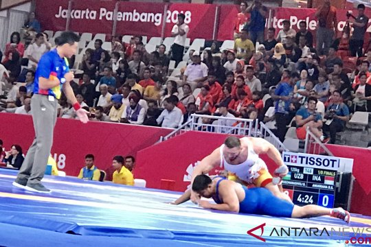 Kalah lawan atlet Uzbekistan, Dimas Septo incar perunggu
