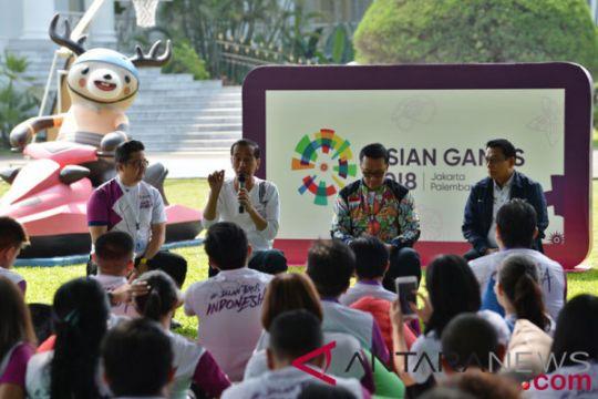 Presiden ingin Indonesia perbaiki peringkat di Asian Games