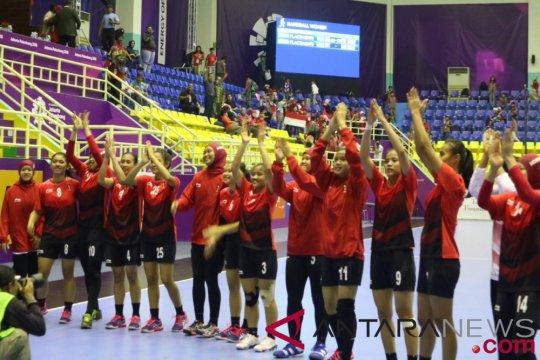 Tim bola tangan putri Indonesia kembali kalah, pelatih tetap puji pemain