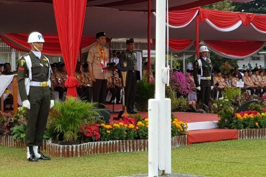 Presiden minta Pramuka jangan cuma dididik morse