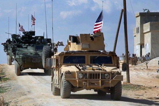 AS kirim perlengkapan logistik-personel militer tambahan di Suriah