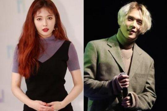 HyunA dan E'Dawn Pentagon dikeluarkan dari manajemen