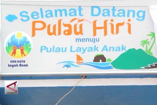 Menteri PPPA resmikan Hiri sebagai pulau layak anak