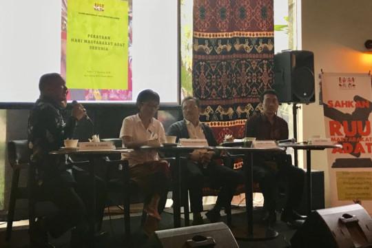 Draf RUU berpotensi hilangkan hak masyarakat adat