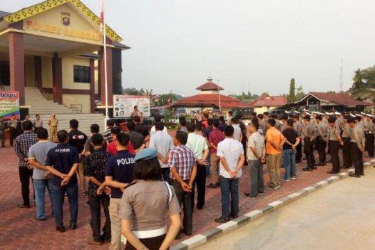 Shalat Idul Adha di perbatasan RI-Malaysia dijaga kaum muda Katolik