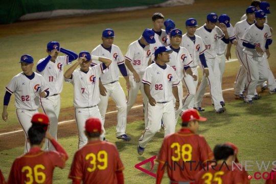 Bisbol Chinese Taipei berpeluang masuk partai final