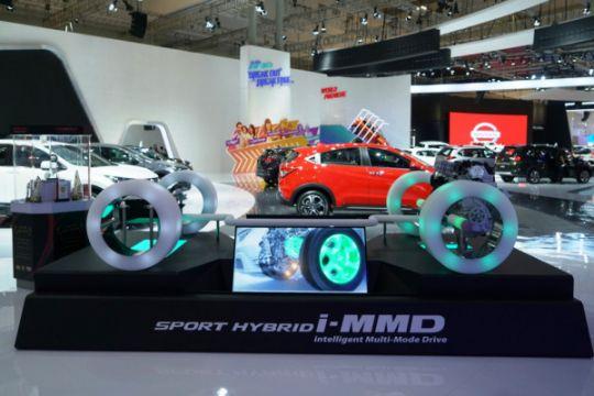 Honda jelaskan cara kerja mesin hibrida lewat peraga i-MMD