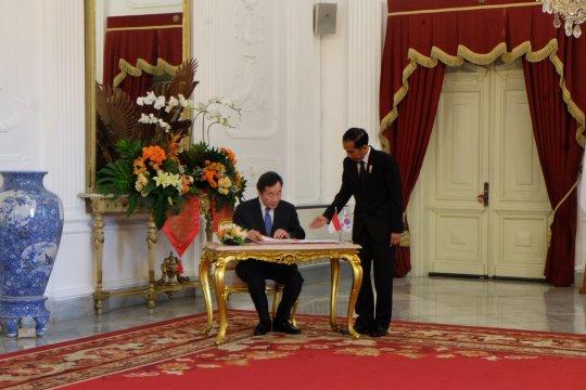 Presiden bicarakan empat topik dengan PM Korsel