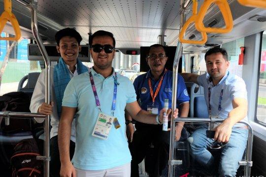 Atlet Tajikistan senang Idul Adha di Indonesia
