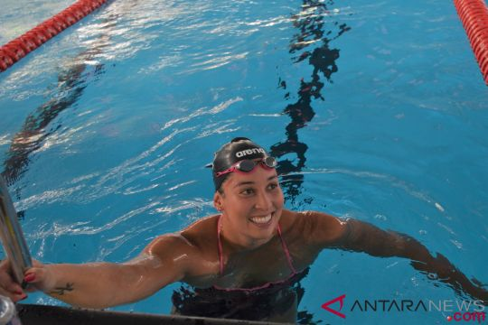 Ranomi jajal kolam renang Stadion Akuatik GBK