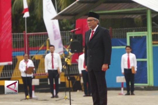 Upacara BUMN di Jayapura Papua
