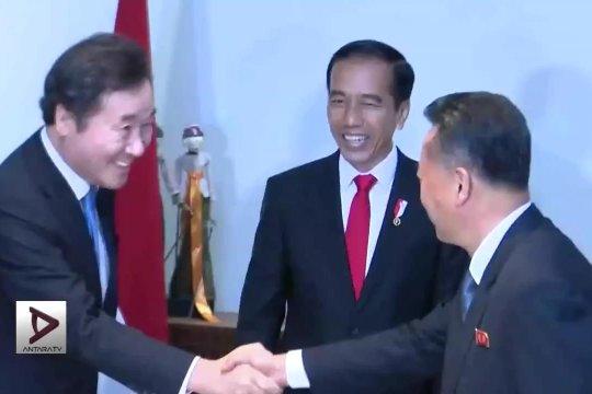 Presiden apresiasi pembentukan kontingen gabungan Korea