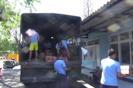 TNI AU Lanud Iswahjudi koordinas bantuan gempa Lombok