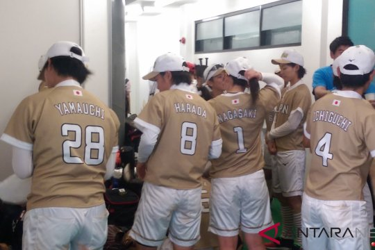 Selangkah lagi sofbol Jepang raih medali emas