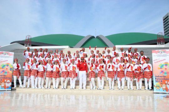 Narapidana se-Indonesia pecahkan Rekor Dunia Poco-Poco