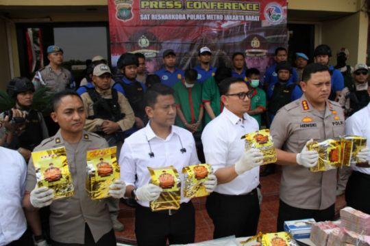 Polisi sita 30 kilogram sabu sindikat internasional