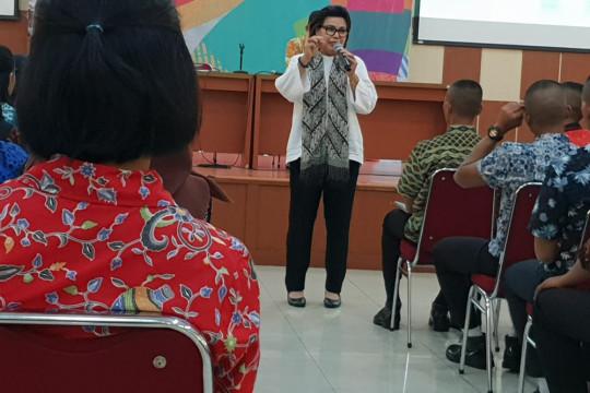 Paskibraka 2018 dapat pembekalan dari KPK